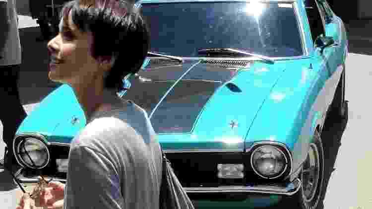 Trovão Azul Opressor Ford Maverick GT 1974 Jair Bolsonaro Falabella - Arquivo pessoal - Arquivo pessoal