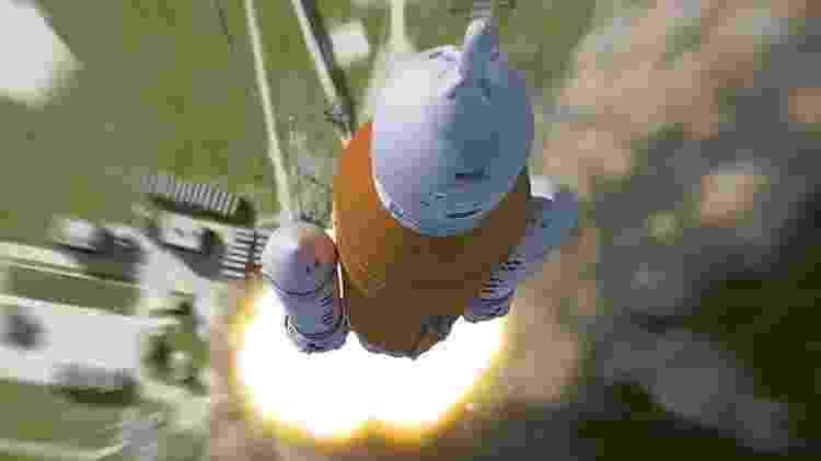 O foguete SLS fará seu voo inaugural no próximo ano - Nasa - Nasa