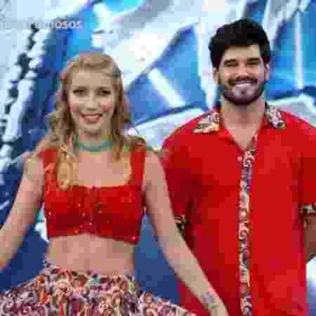 """Luiza Possi no """"Dança dos Famosos"""" - Reprodução/GloboPlay"""
