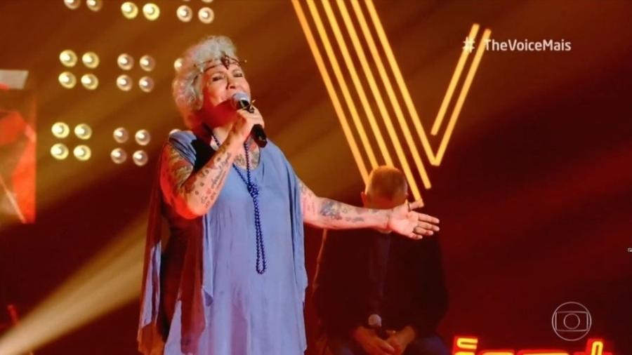 Áurea Catharina canta na fase Tira-Teima - Divulgação/Globo