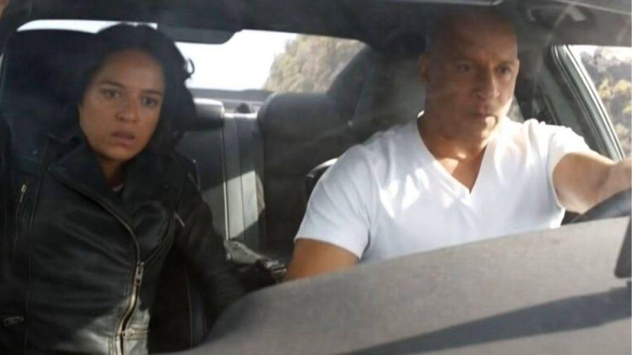 Vin Diesel e Michelle Rodriguez - Reprodução