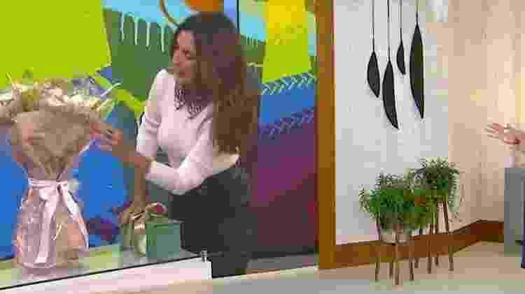 Fátima Bernardes - Reprodução/TV Globo - Reprodução/TV Globo