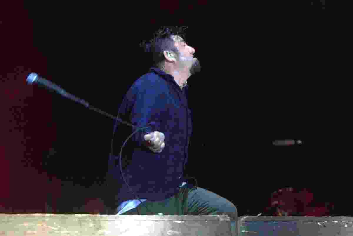 24.set.2015 - O Deftones fecha as apresentações no palco sunset no quarto dia do Rock in Rio 2015 - Marcos Ferreira/Photo Rio News