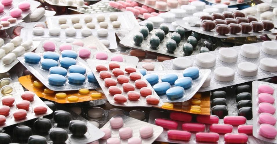 Remédios; farmácia caseira