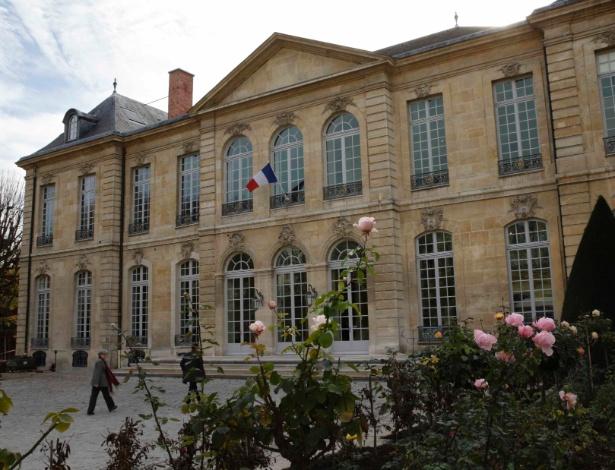 5.nov.2015 - Fachada do Hotel Biron, em Paris, que abriga o museu Rodin desde 1919 - Philippe Wojazer/Reuters