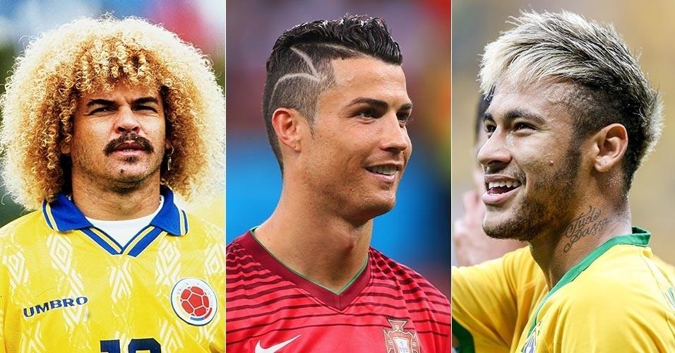 14 Cortes De Cabelo De Jogadores De Futebol Que Foram Destaque No