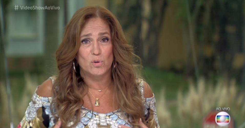 Susana Vieira comenta cena sensual de Klebber Toledo em