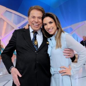 Patrícia Abravanel e Silvio Santos  - Lourival Ribeiro/SBT
