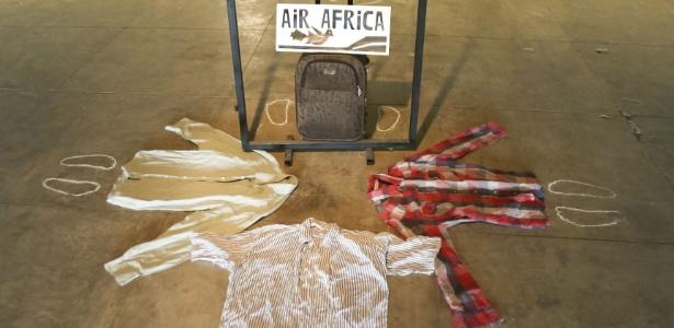"""Obra """"Air Africa"""", de Serge Kiala, na mostra """"Horizontes Possíveis - Arte como Refúgio"""" - Divulgação"""