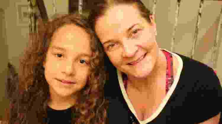 A médica Rosana Martinelli e o filho Teodoro, 9 anos - Arquivo pessoal - Arquivo pessoal