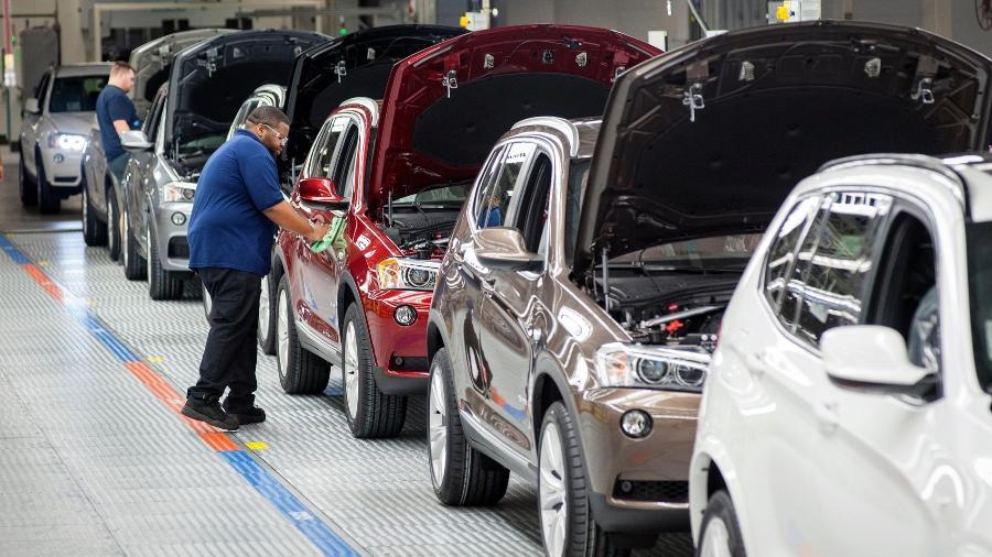 BMW X3 é feito em Araquari (SC) - Reprodução
