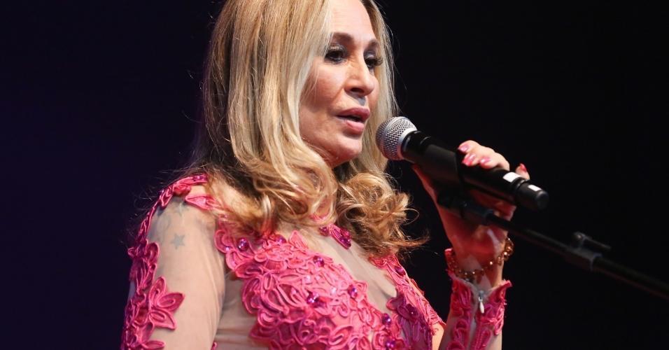 14.fev.2017 - A cantora Rosemary participou do Show de Verão da Mangueira, realizado no Rio de Janeiro, no Vivo Rio