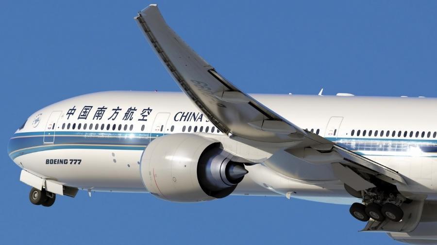 Avião da China Southern - Divulgação