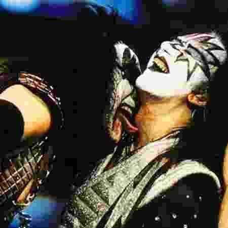 Gene Simmons e Ace Frehley, do Kiss - Reprodução - Reprodução