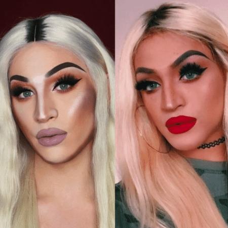 A drag Alexis Stone se transformou em Pabllo Vittar nas redes - Reprodução/Instagram