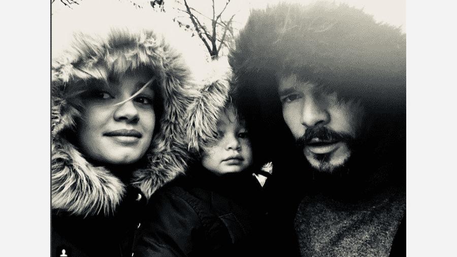 Sophie Charlotte, Otto e Daniel de Oliveira - Reprodução/Instagram