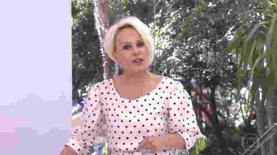 """Ana Maria Braga comete equívoco ao chamar por Nayara, eliminada do """"BBB18"""", e pede ajuda sobre o reality - Reprodução/Globo"""