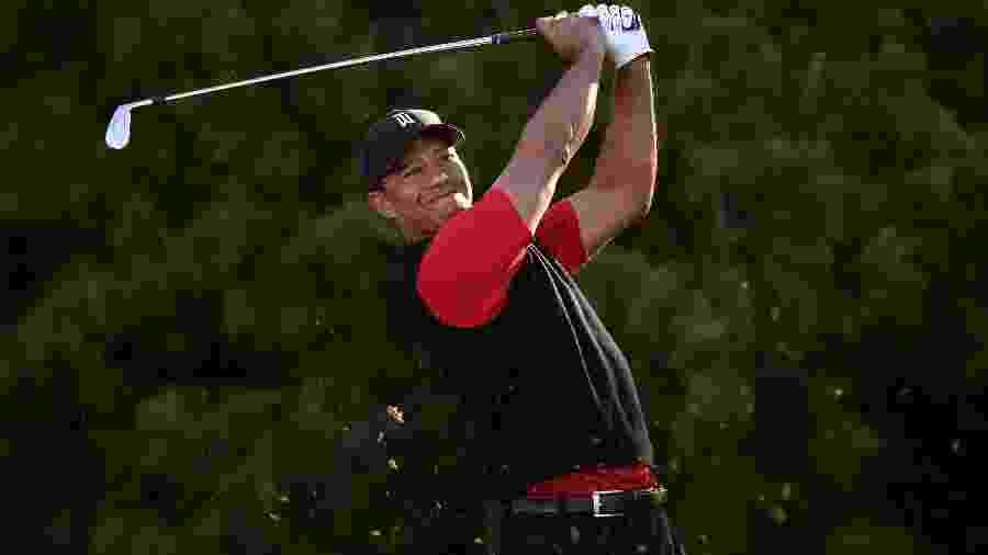 O americano Tiger Woods, um dos maiores da atleta da história do golfe - Orlando Ramirez/USA Today Sports