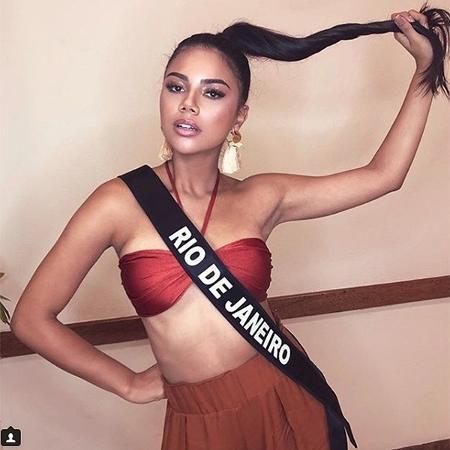 Amanda Coelho, Miss Rio de Janeiro - Reprodução/Instagram