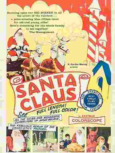 """Pôster do filme """"Santa Claus"""" - Reprodução/IMDB - Reprodução/IMDB"""
