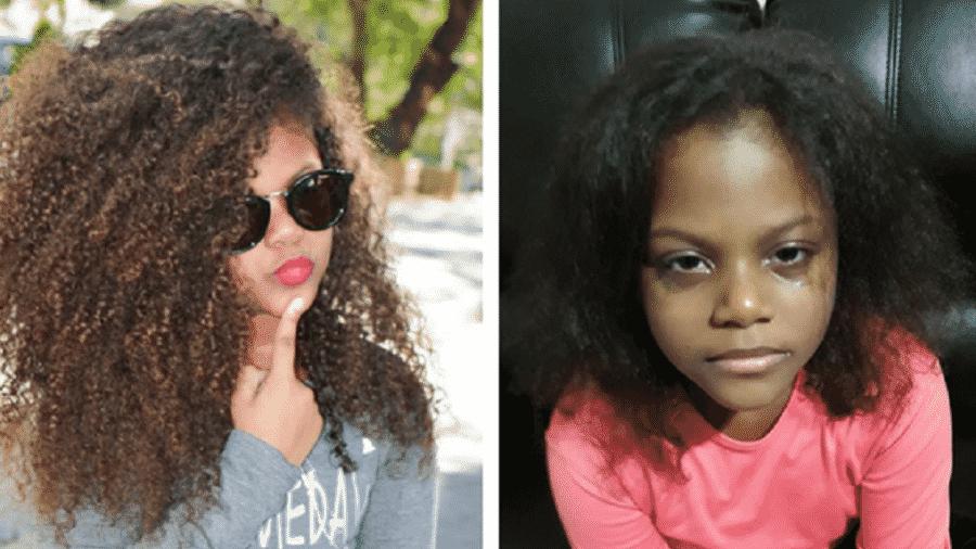 Bella teve seus cabelos cortados e alisados pela madrasta - Arquivo pessoal