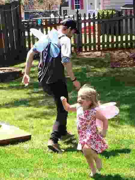 Molly e o pai, Trevor McCabe - Reprodução/Facebook/Devon McCabe