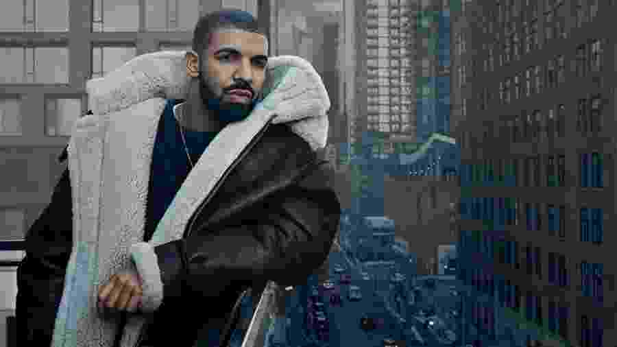 O rapper Drake - Divulgação