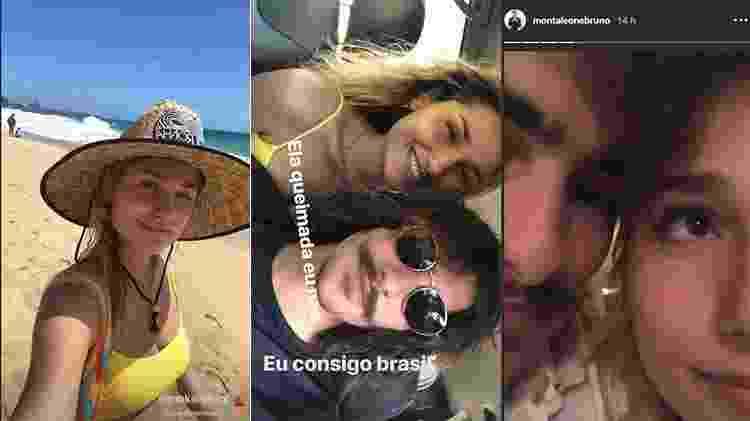 Sasha e Bruno Montaleone aproveitam dias de folga em Fernando de Noronha -  -