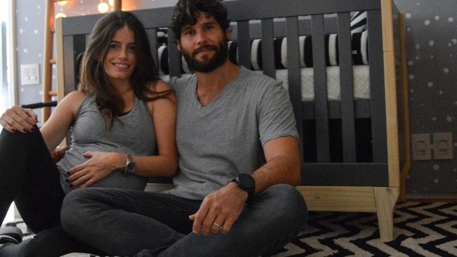 Dudu Azevedo e a mulher, a médica Fernanda Mader - Reprodução/Instagram