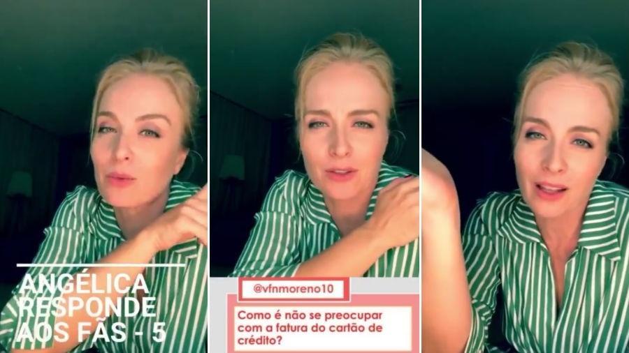 Angélica responde a fãs - Reprodução/Instagram