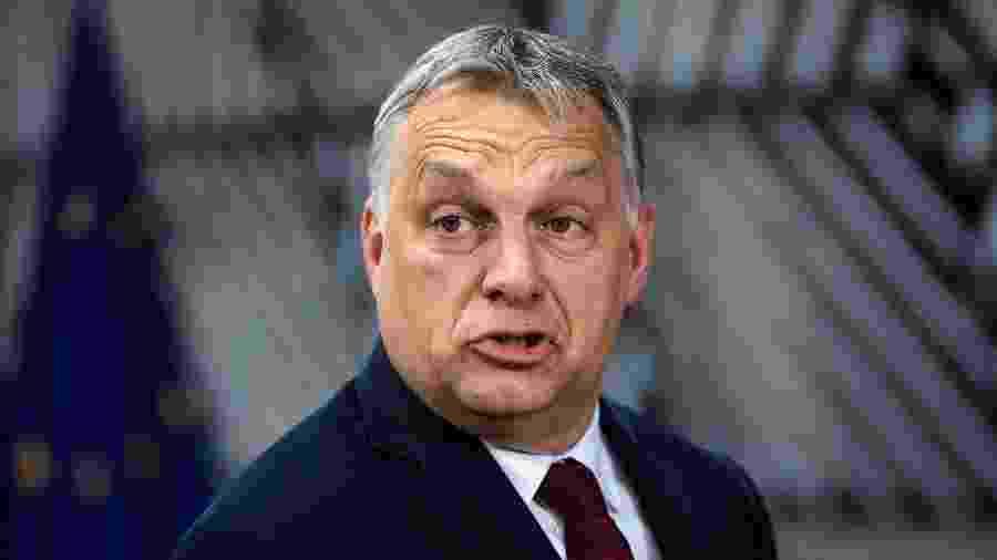 O primeiro-ministro húngaro, Viktor Orbán - Getty Images