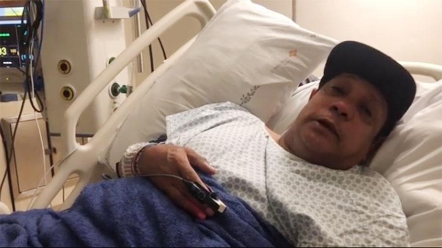 Liminha segue internado no Hospital São Camilo Unidade Pompeia, em São Paulo - Reprodução/Instagram