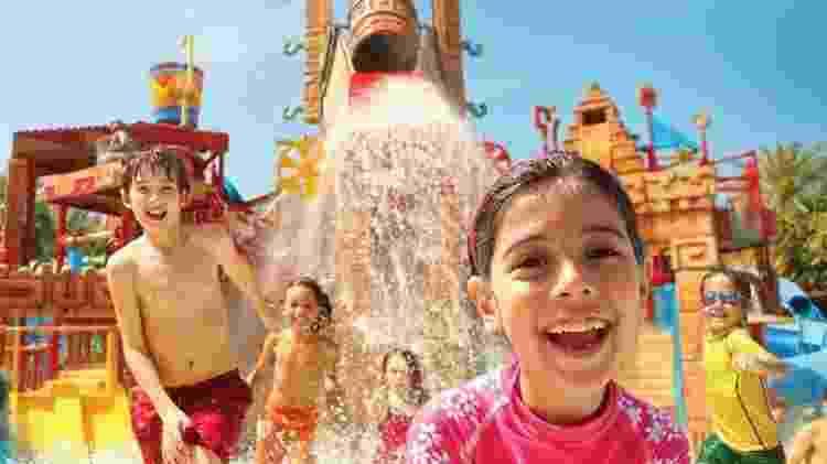 Divulgação/Aquaventure Waterpark, em Dubai