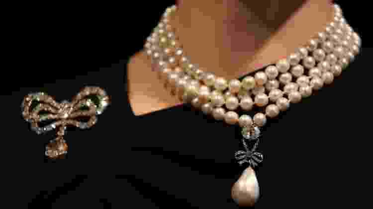 As joias da rainha francesa Maria Antonieta vão à leilão em Genebra - AFP - AFP