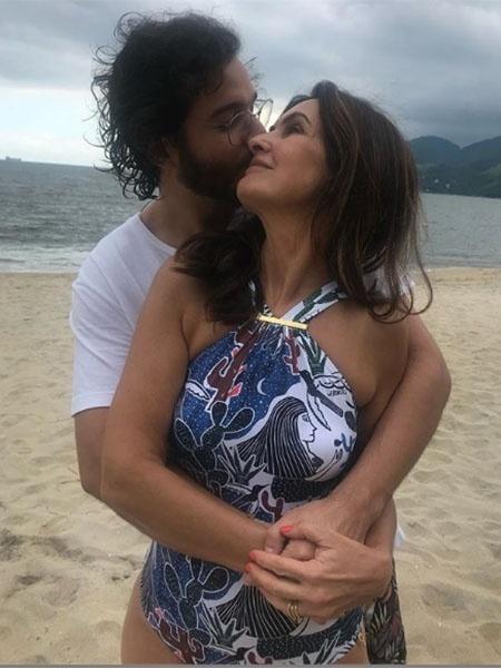 Fátima e Túlio comemoram mais um final de ano juntos - Reprodução/Instagram