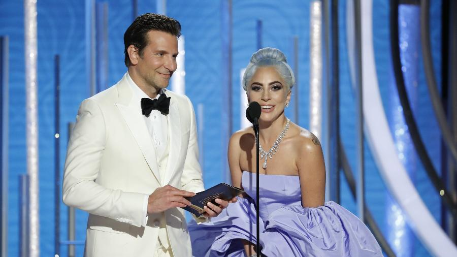 Bradley Cooper e Lady Gaga no Globo de Ouro - Paul Drinkwater/NBC Universal/Reuters