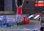 Após erro, Vinicius é eliminado da prova de resistência