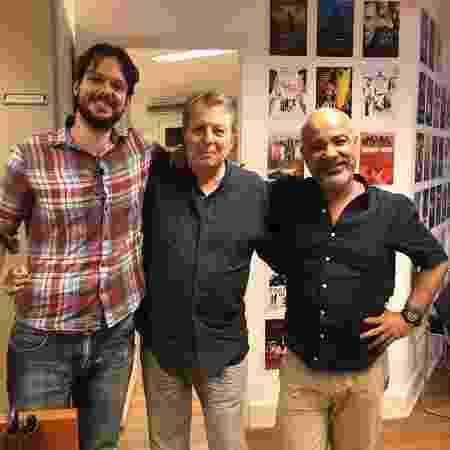 Álvaro Campos, Daniel Filho e Cláudio Manoel - Arquivo pessoal - Arquivo pessoal