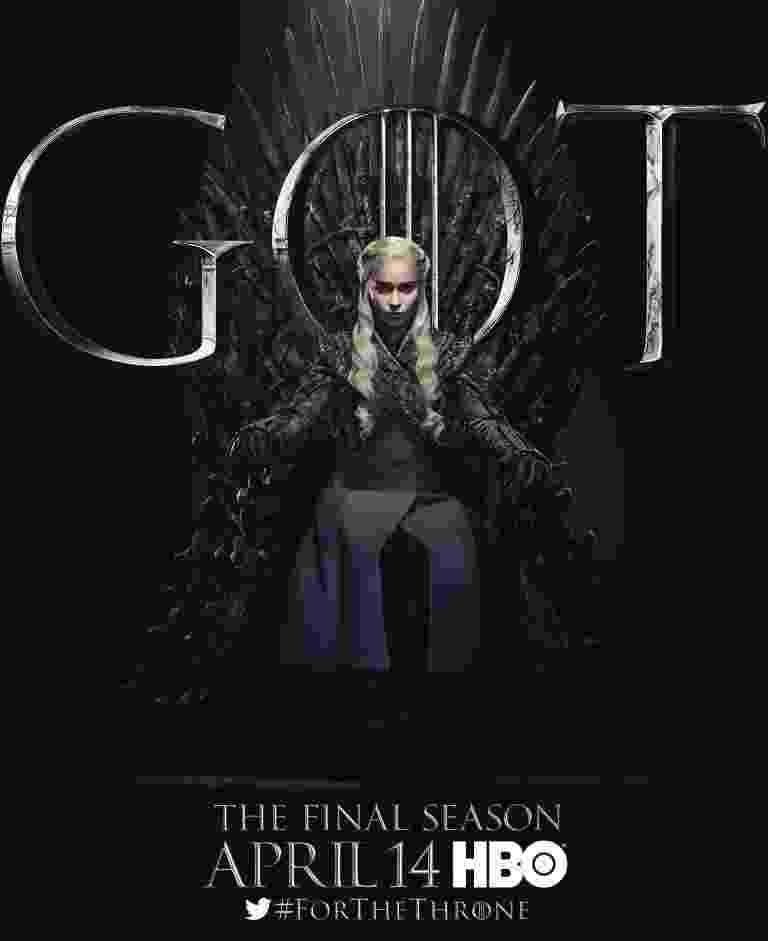 """Emilia Clarke como Daenerys Targaryen em """"Game of Thrones"""" - Reprodução/EW"""