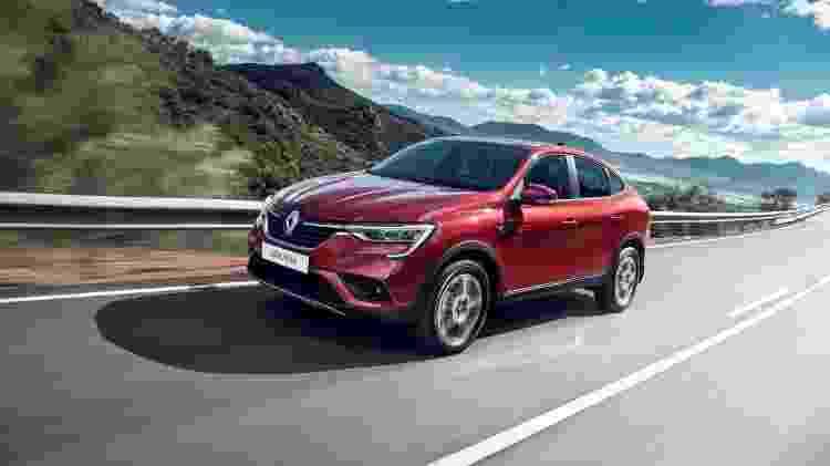Crossover com perfil de cupê segue mote de modelos da Mercedes e BMW - Divulgação