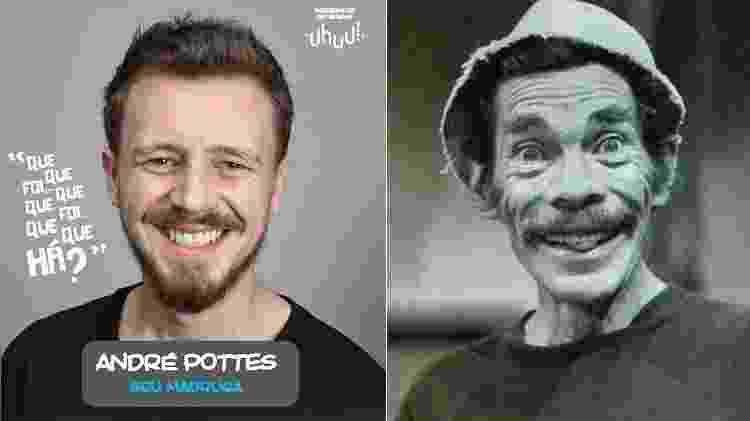 """André Pottes interpretará Seu Madruga em """"Chaves - Um Tributo Musical"""" - Montagem/UOL - Montagem/UOL"""