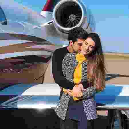 Luan Santana com a namorada, Jade Magalhães - Reprodução/Instagram