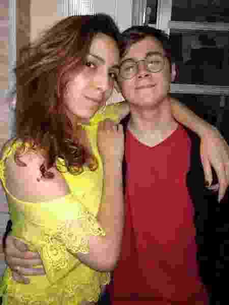 Isabela Tibcherani e Rafael Miguel; Paulo Cupertino era contra relacionamento da filha - Reprodução/Instagram