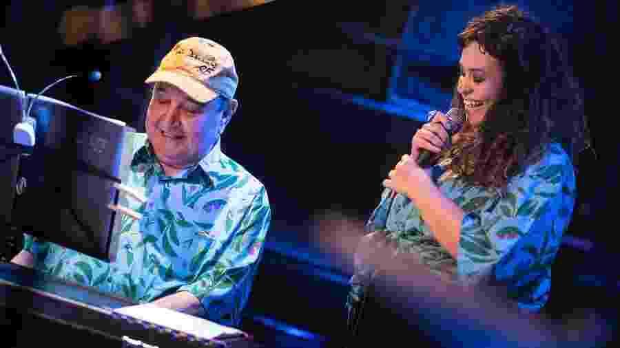 João Donato e Tulipa Ruiz durante show no Festival Bananada - Divulgação