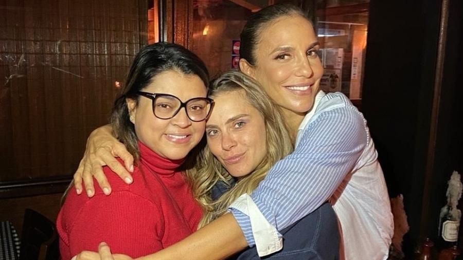 Preta Gil, Carolina Dieckmann e Ivete Sangalo - Reprodução/Instagram