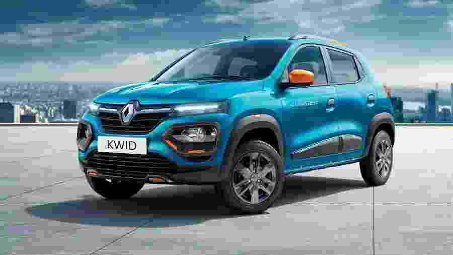 Renault Kwid 2020 na Índia foi totalmente desenhado no Brasil; por ironia, novidades não chegam tão cedo, diz marca - Divulgação