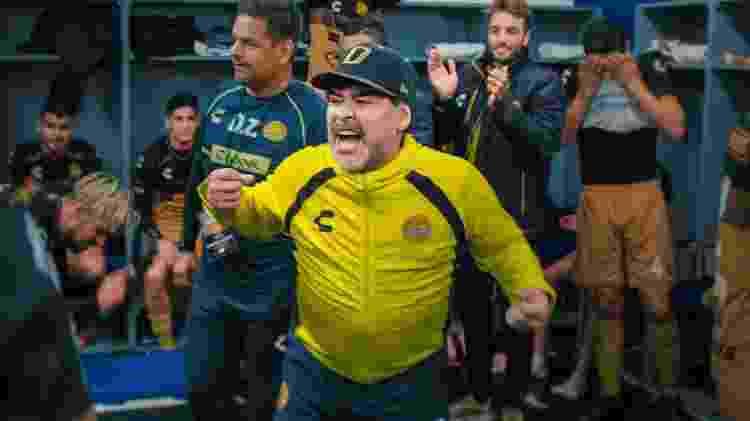 Cena do documentário Maradona no México - Divulgação/Netflix