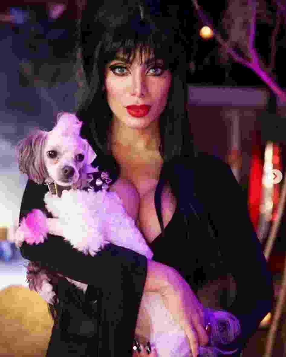 Anitta mostra fantasia em festa de Halloween - Reprodução/Instagram