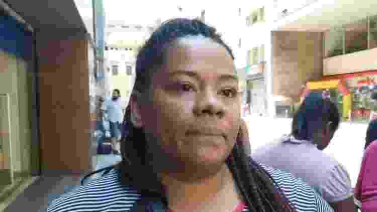 A prima de Charlete, Tânia, em entrevista aos Jornalistas Livres - Reprodução/Facebook/Jornalistas Livres