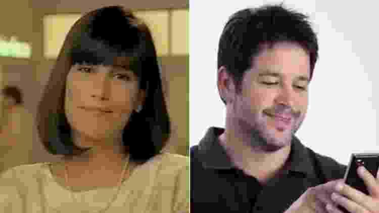Maria de Fátima (Gloria Pires) e Tufão (Murilo Benício) gravaram comerciais - Montagem/UOL/Reprodução/YouTube